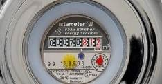 Commercial Water Meter